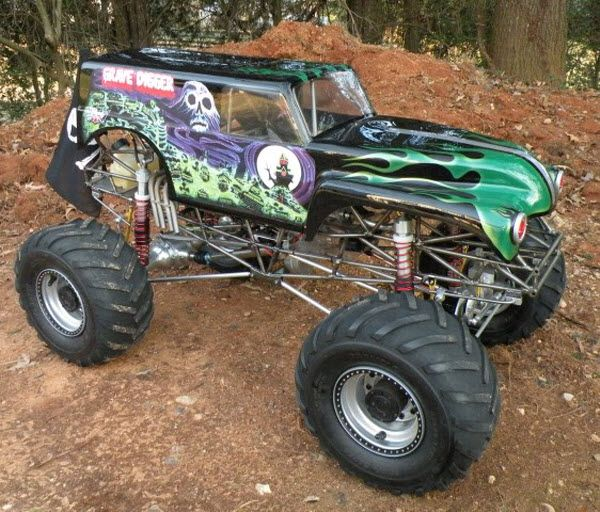 Kevin Holmlund S Incredible Conley V8 Powered 1 5 Scale Grave