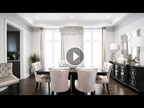 Dining room makeover kimmberly capone interior design home style also rh pinterest