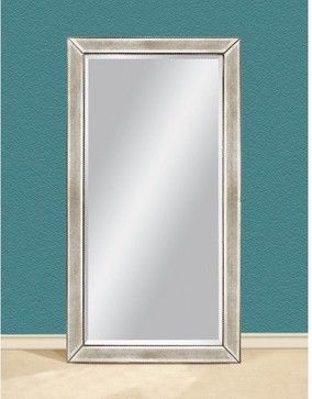 Tylene Leaning Wall Mirror 44w X 79h In Contemporary