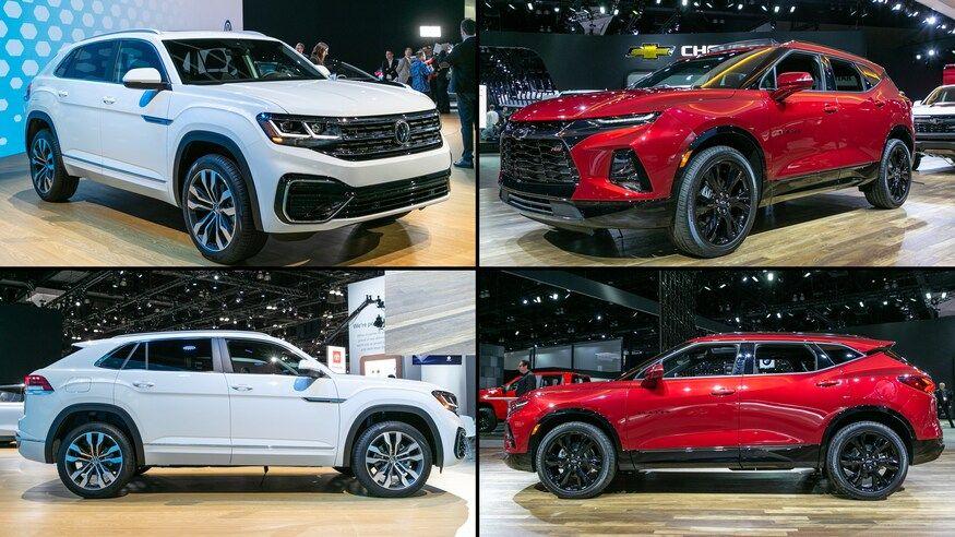 Midsize SUV Comparison Volkswagen Atlas Cross Sport vs