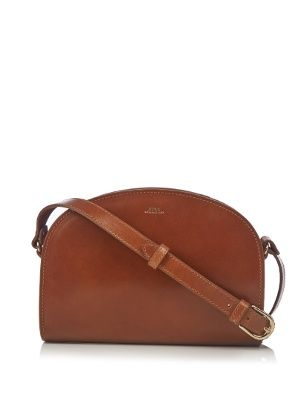 Half Moon leather cross-body bag | A.P.C. | MATCHESFASHION.COM UK
