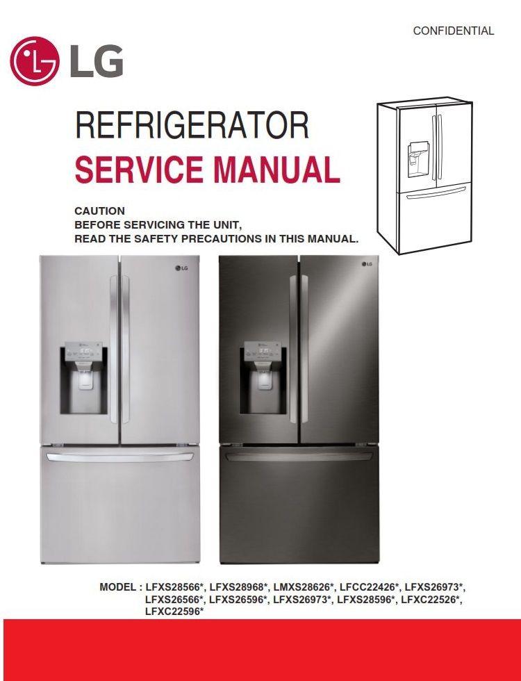 Lg Gc L216bsk L216bsk1 L213bvk L213bvk1 L197stf Refrigerator Service Manual Refrigerator Service Manual Locker Storage