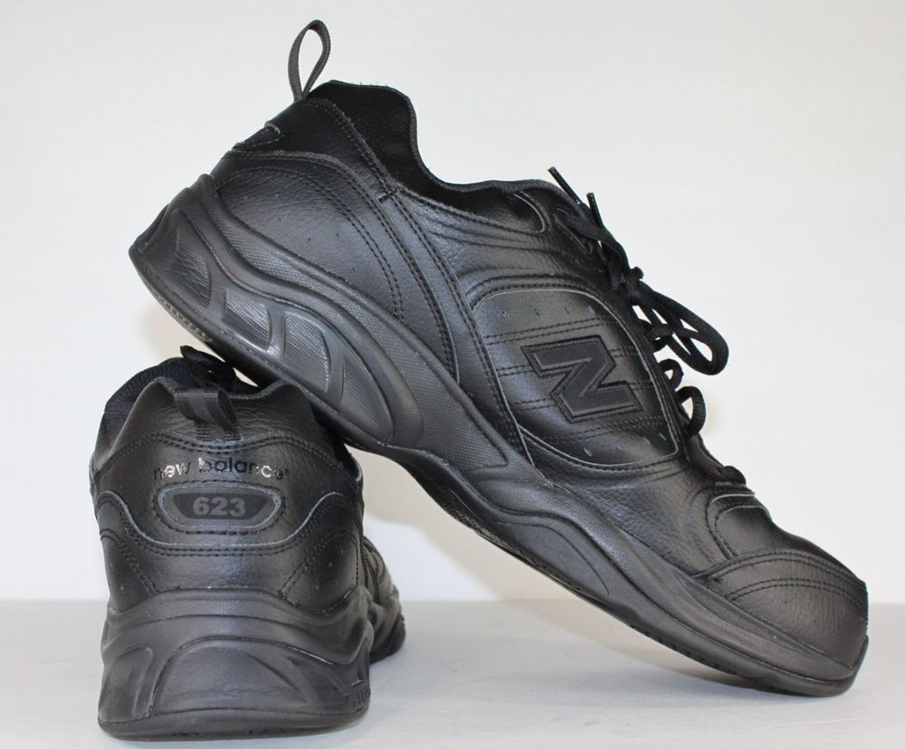 Mens New Balance Shoes Mx623ab Black Walking Extra Wide Sneakers