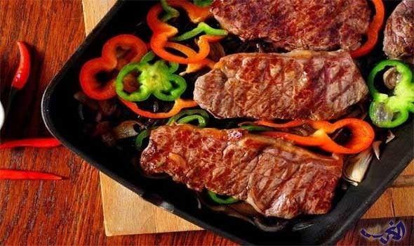 طريقة عمل ستيك اللحم بالخضراوات على الطريقة المكسيكية Food Cooking Recipes Recipes