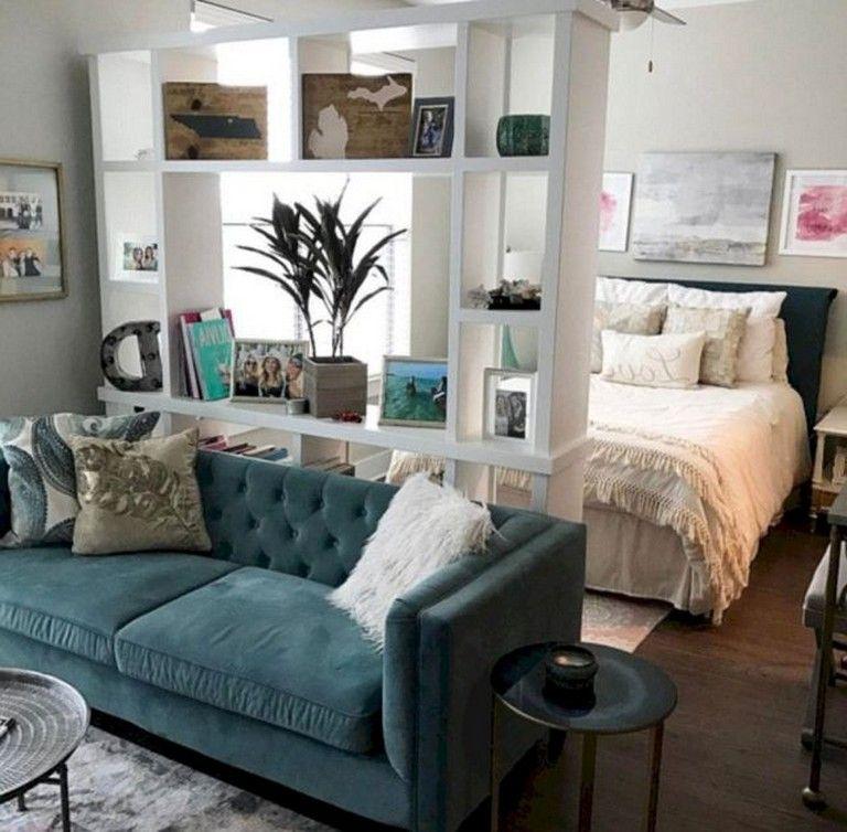 63+ Intelgent Studio Apartment Decorating Ideas