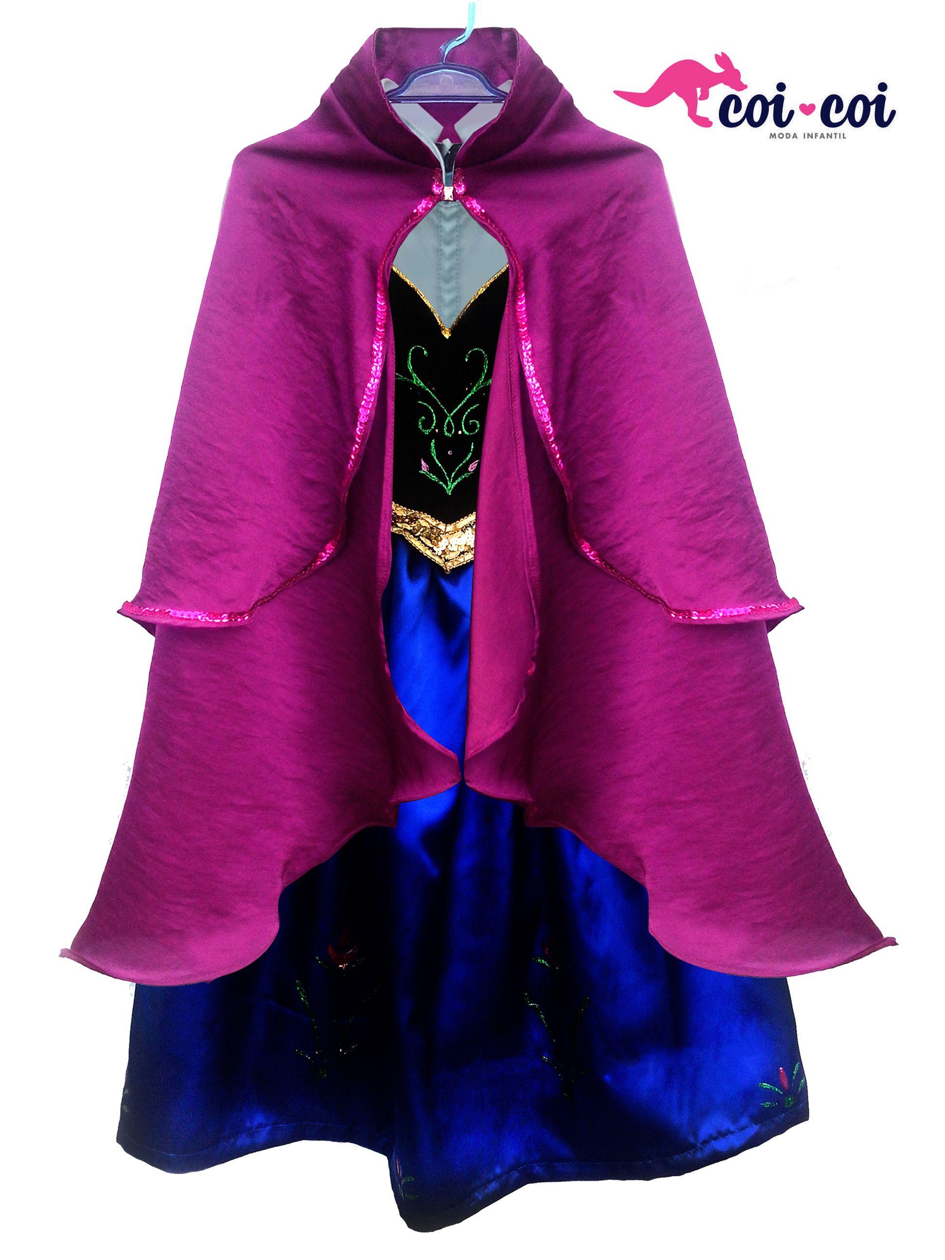 Vestido Infantil Anna, Frozen. | Vestidos | Pinterest | Ropa y ...