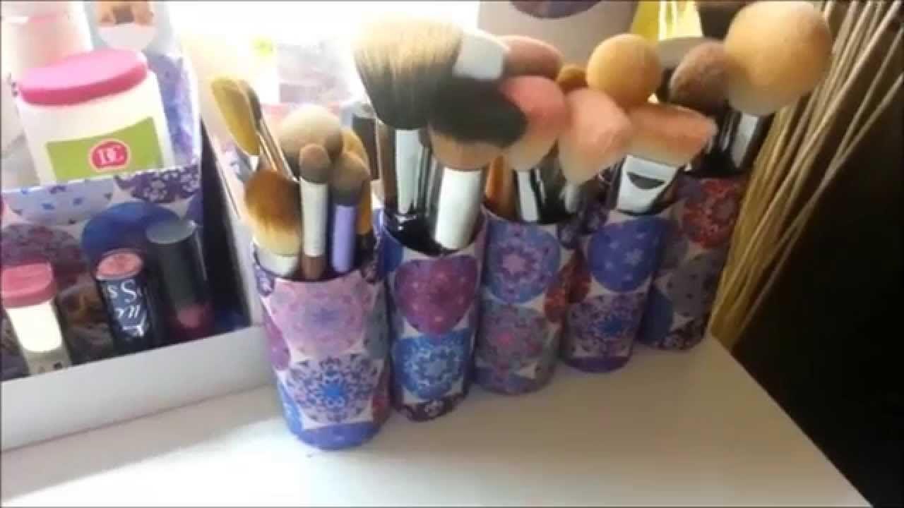 DIY organizér na kosmetiku/ školní potřeby