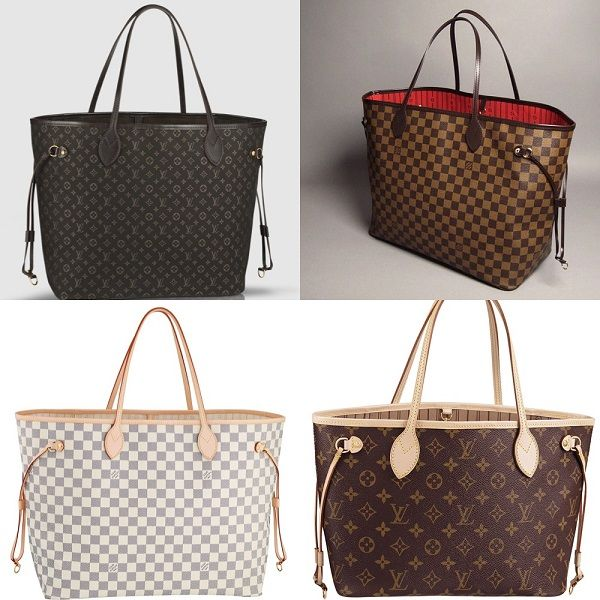 93cc55ace007d The Louis Vuitton Neverfull Tote replica handbag is a popular bag that is  why this replica handbag review deals with the details that make a fake bag  a good ...
