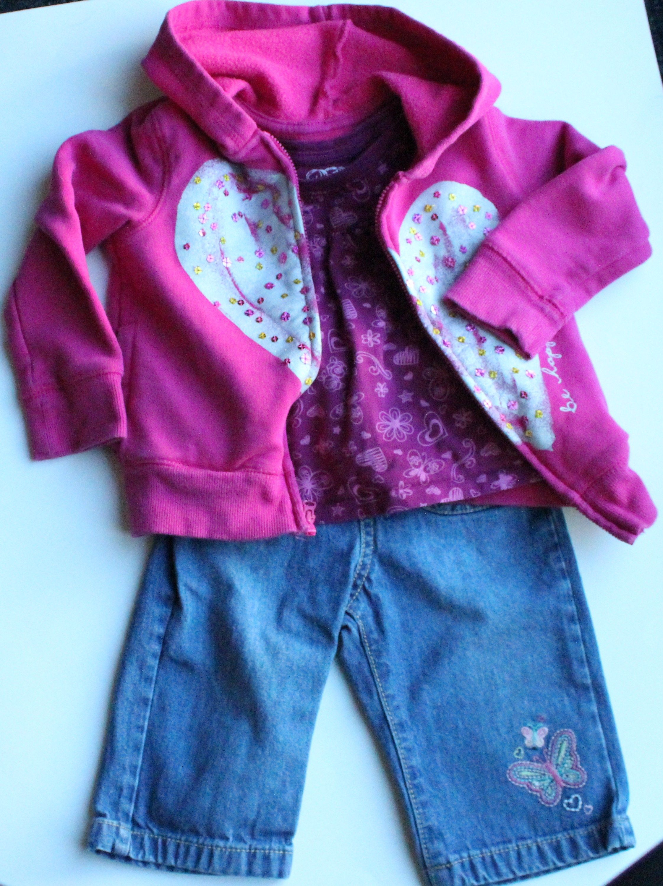 Casual Baby Girl Outfit Osh Kosh Jeans and Hoo Children s Place