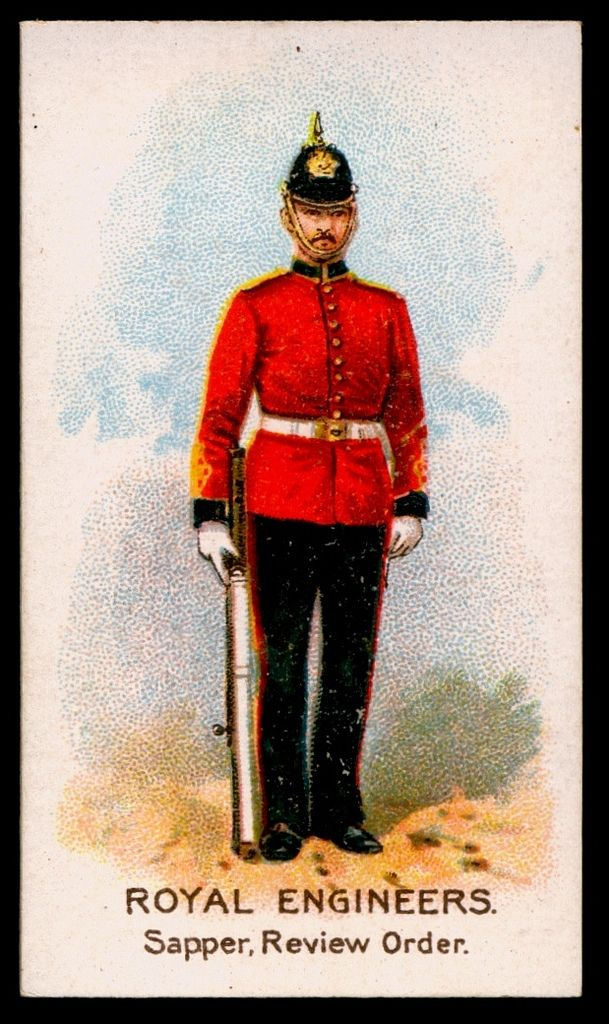 cigarette card royal engineers