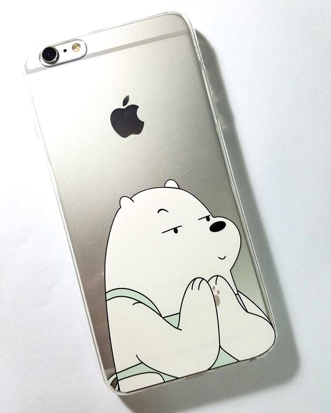 759d862638 We Bare Bears Phone Case!❄ Photo from: @gonezoomjerry #iphone #case # webarebears
