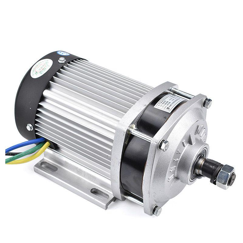 48V DC 750W elektrischer Roller Brushless Motor mit Controller DIY Quad Fahrrad