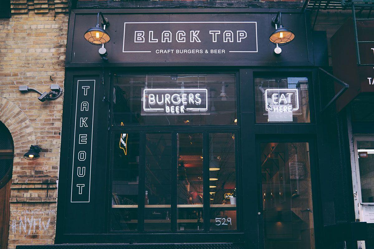Black tap on behance craft burger black taps black tap