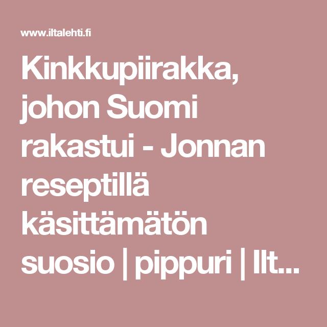 Kinkkupiirakka, johon Suomi rakastui - Jonnan reseptillä käsittämätön suosio | pippuri | Iltalehti.fi