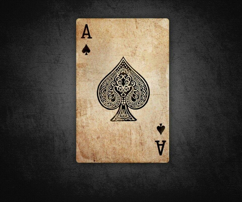 As Keladi Ace Of Spades Tattoo Playing Cards Art Ace Card