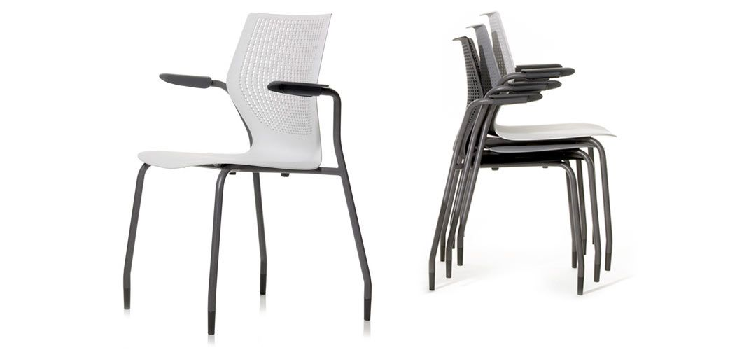 Genial MultiGeneration By Knoll Stacking Chairs Encourages Collaboration With A  Responsive, Open Design That Supports Multiple
