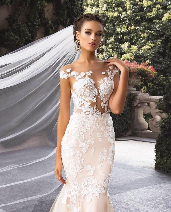 Anna Campbell 2019 Wedding Dresses: 83 Unique Wedding Hairstyles For Different Necklines 2019
