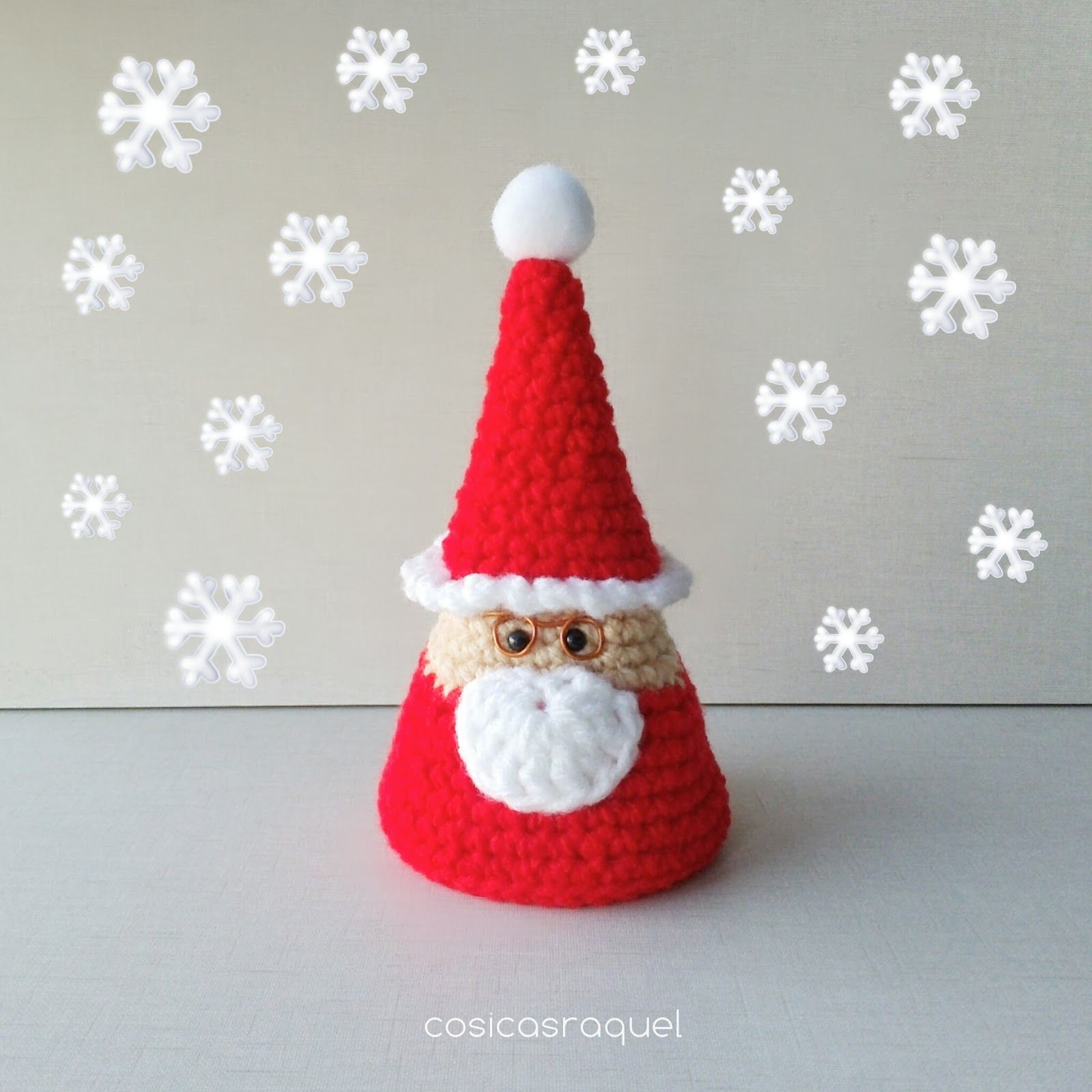 Santa Claus Amigurumi | Pinterest | Árboles de navidad de crochet ...
