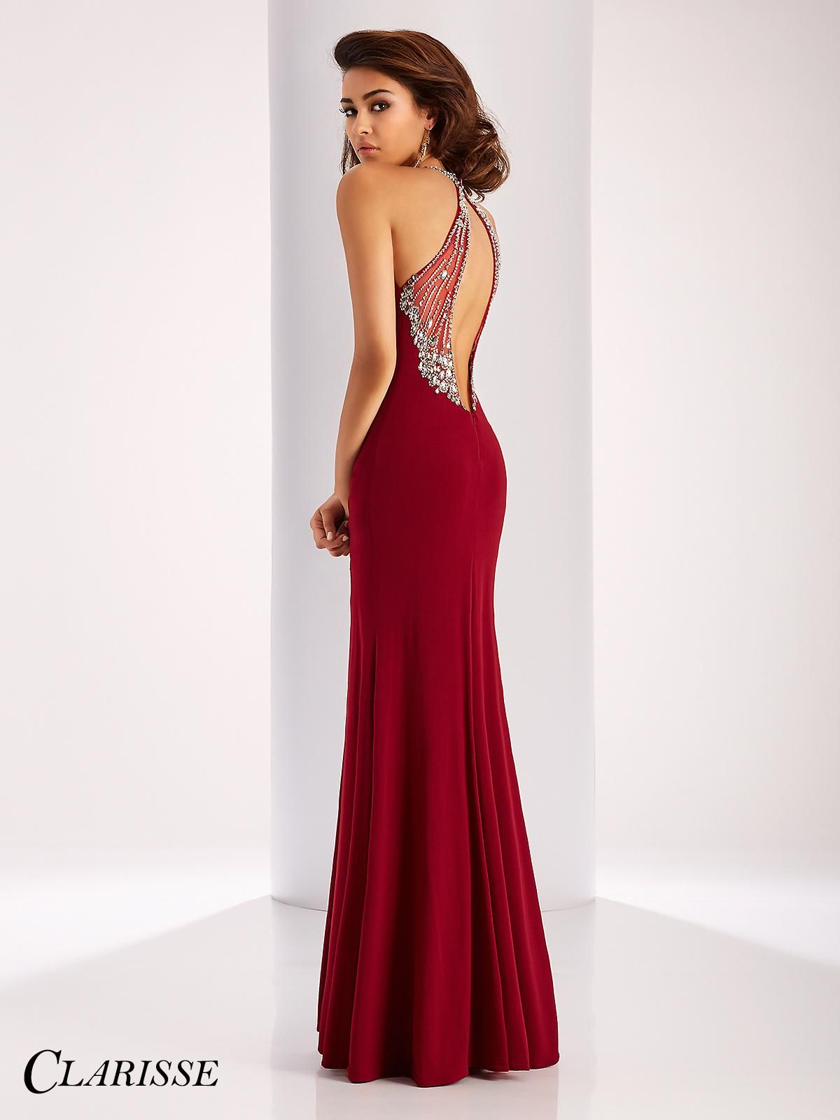 c36c548b96 Sexy Clarisse 2017 Prom Dress Style 3078. Find the perfect balance of sexy  and elegant with this gorgeous fitted prom dress featuring a sexy slit
