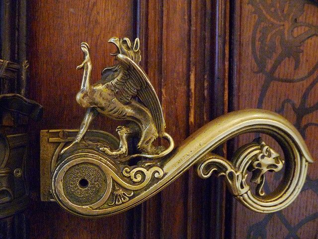 Mythical griffin door handle which leads to the bathroom at a military museum. & Mythical door handle   Just Handle It!   Pinterest   Door handles ...