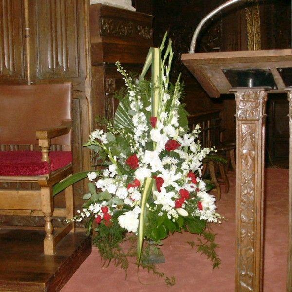 D coration autel glise mariage recherche google mariage pinterest autel glise et - Decoration eglise mariage ...
