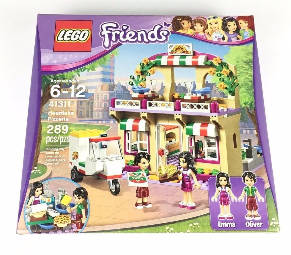 Lego Friends 41311 Heartlake Pizzeria 289 Pcs New 2017 Emma Oliver