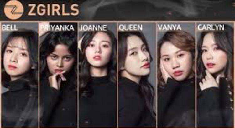 Z Girls New Kpop Girls Group Zgirls Zstars Girls Group Kpop Bell Priyanka Joanne Queen Vanya Carlyn Whatyo Z Girls Kpop Girl Groups Kpop Girls