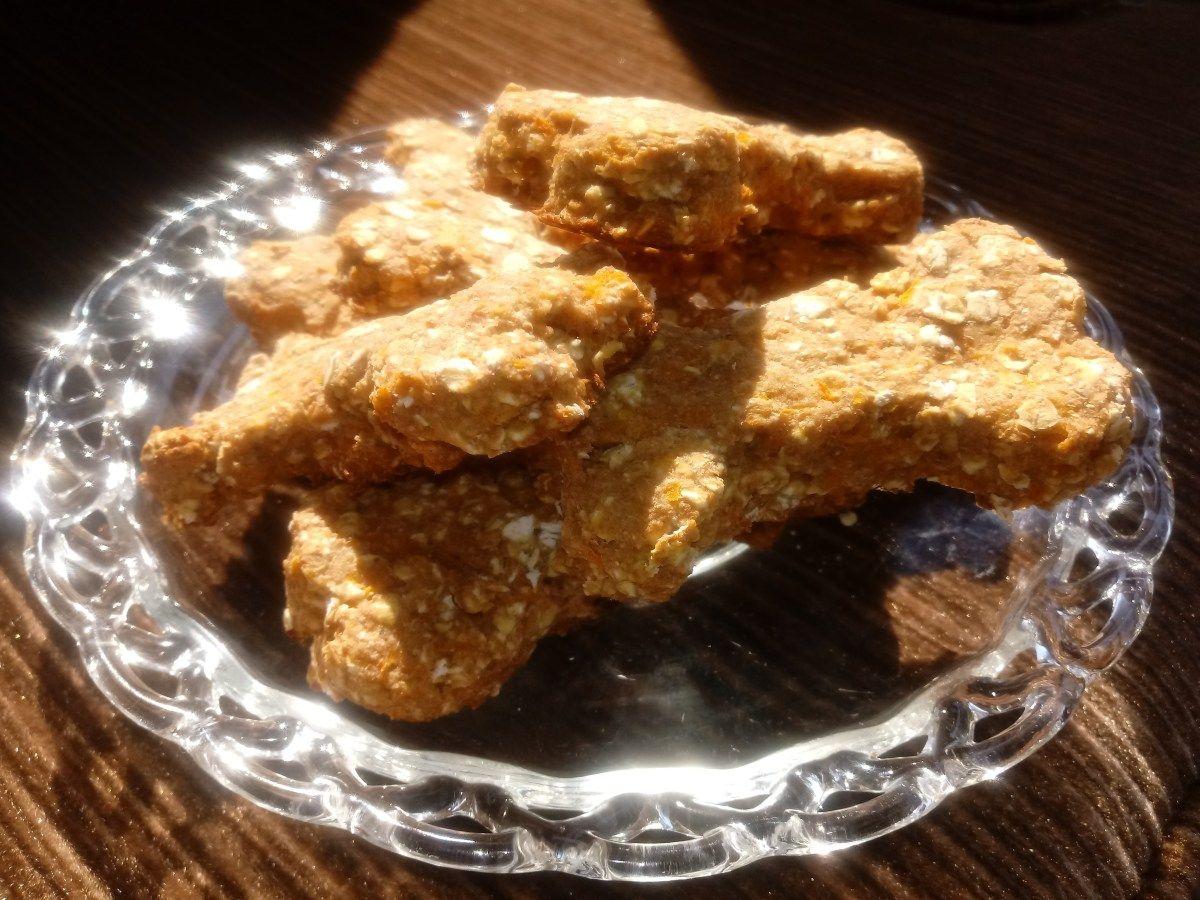 Dog treats applesauce carrot and oats applesauce