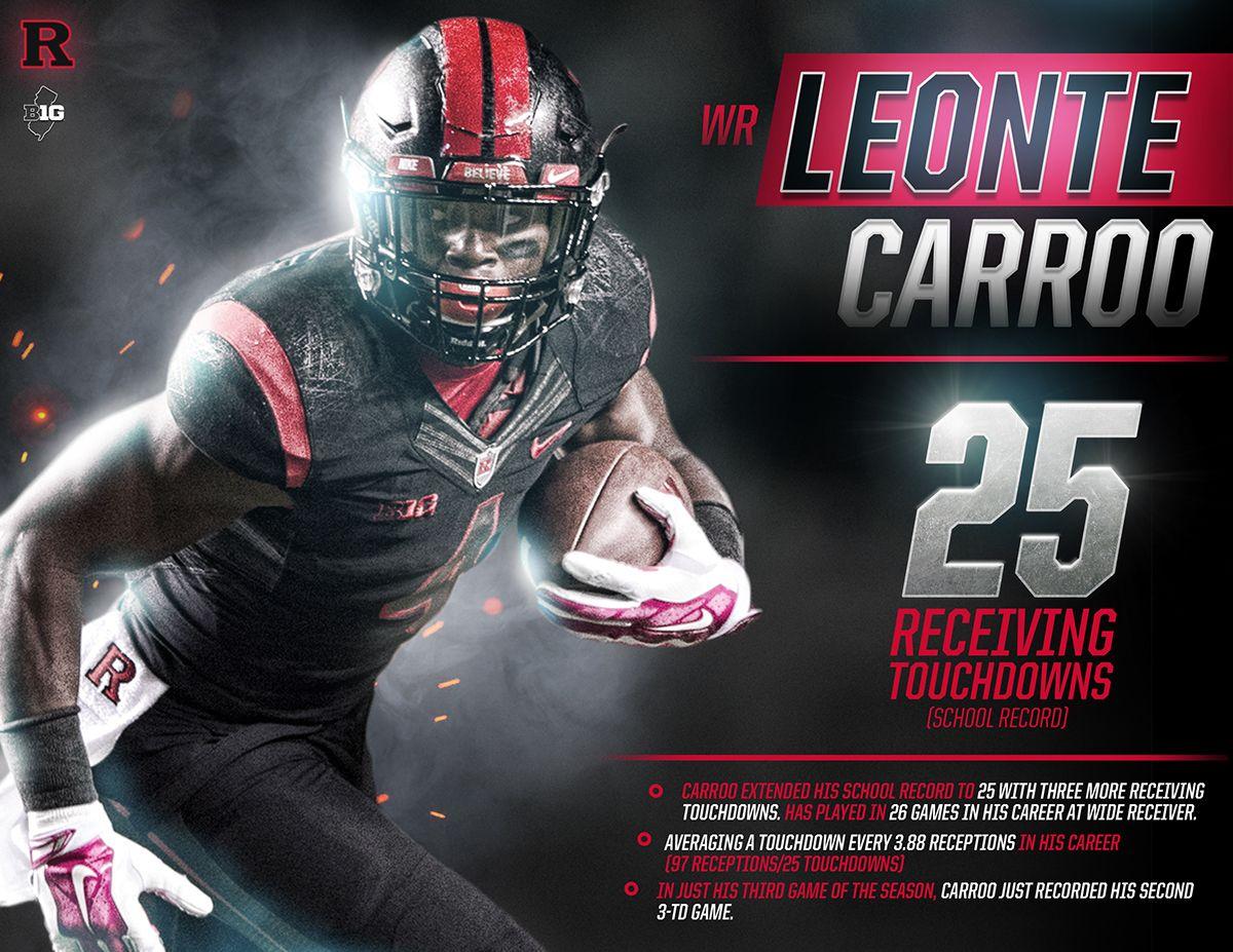 Rutgers Football On Behance Sports Design Inspiration Sports Graphic Design Sports Design