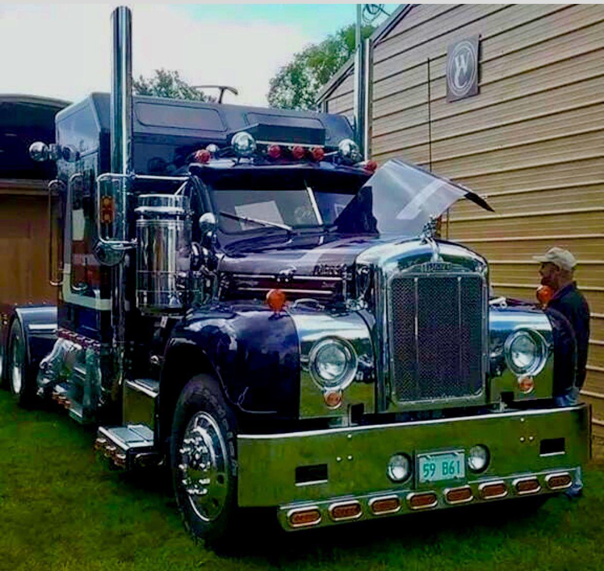 Mack B Model With Images Big Rig Trucks Mack Trucks Big Trucks