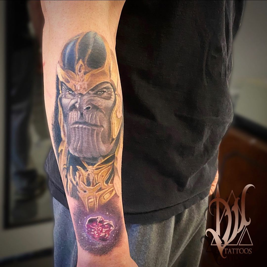 Work In Progress On A Really Cool Marvel Sleeve Some Fresh Some