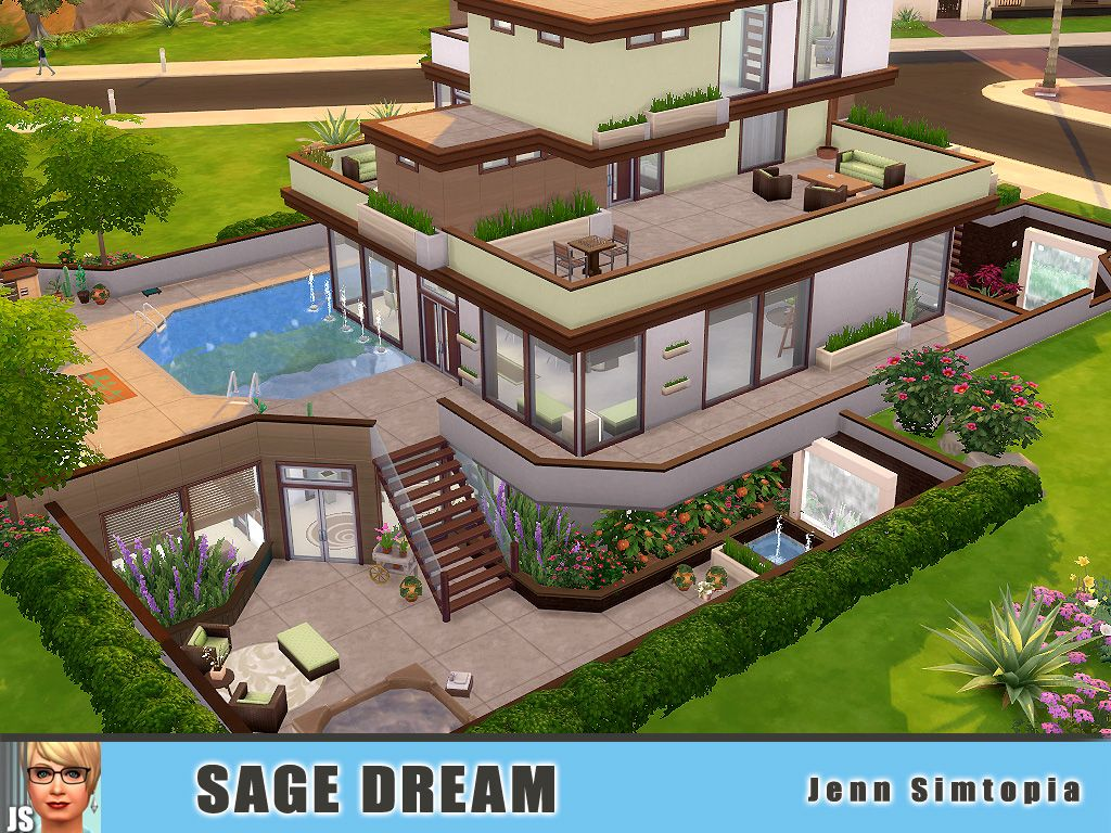 Sims 4 houses tumblr sims 4 ideas pinterest sims games sims and childhood Dream house builder
