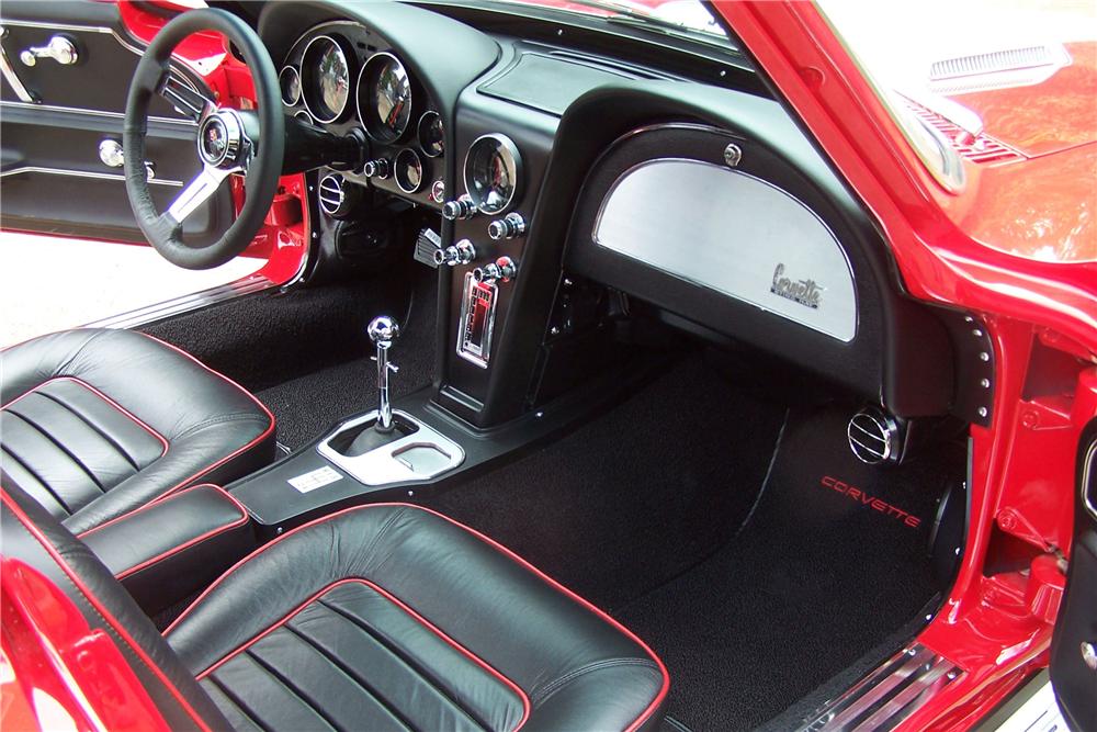 1966 Chevrolet Corvette 427 425 Custom Coupe Interior 213281 Corvette Chevrolet Chevrolet Corvette