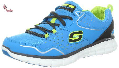 Air-Extreme, Chaussures de Running Homme, Bleu (Navy/Black), 42.5 EUSkechers