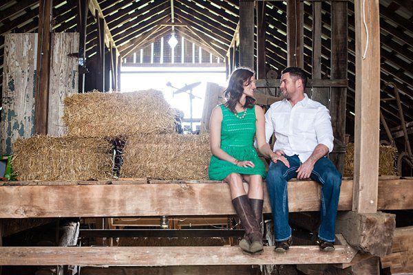 Tennessee Farm Engagement   HEIDI + JAY