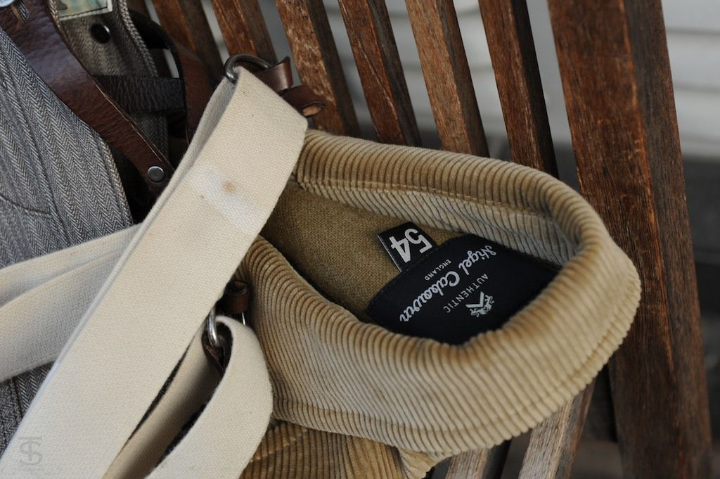 Store Check in Cologne.  Nigel Cabourn.