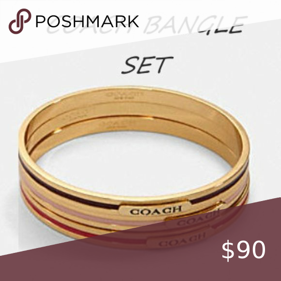 COACH Bangle set( 3 pieces)