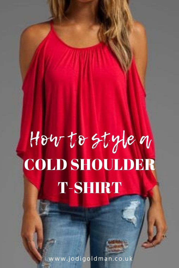 3 ways to style and wear your cold shoulder tshirt or top