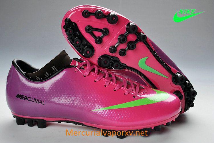 autoryzowana strona wyprzedaż w sprzedaży całkiem miło Nike Mercurial Vapor IX AG Boots Purple Pink Green Black ...