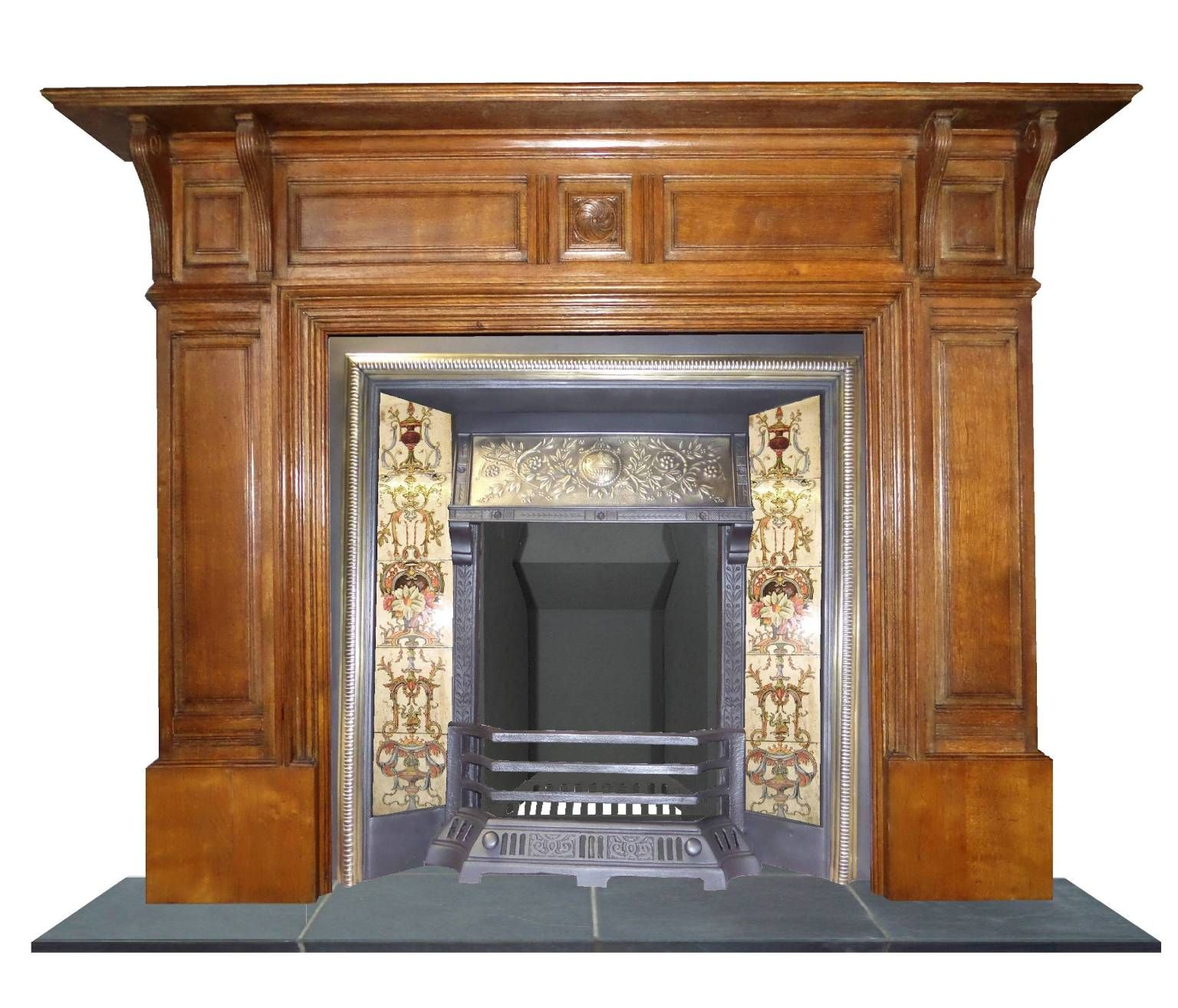 Antique oak mantel antique restored fireplaces pinterest oak