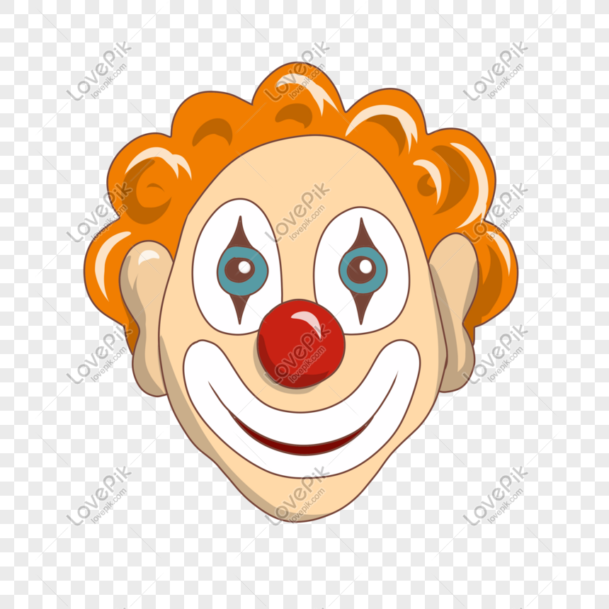 April Fool S Day Red Nose Clown Red Nose Clown Cute Clown Cartoon Clown Hand Drawn Clown April Fool S Day Clown Apri Planner Art Template Design Web App Design