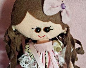 Boneca Russa de feltro
