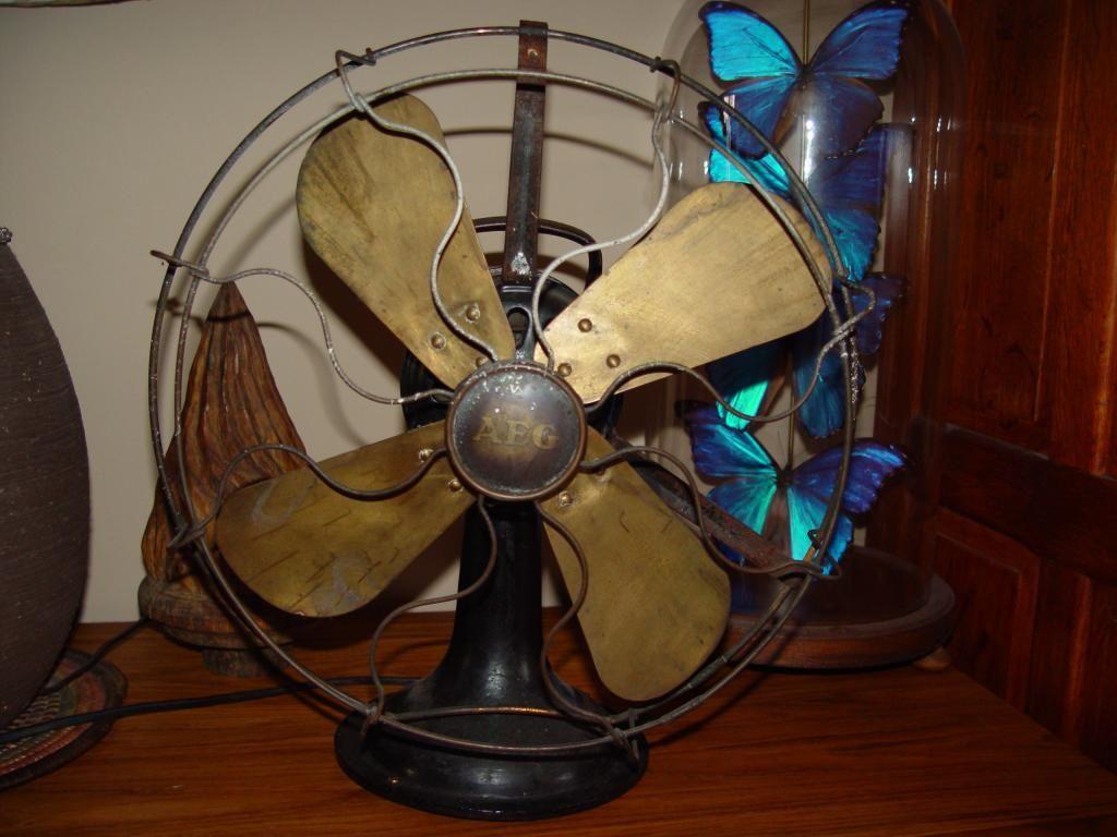 Zabytkowy Wentylator Aeg 1930r 5322624807 Oficjalne Archiwum Allegro Vintage Fans Aeg Fan