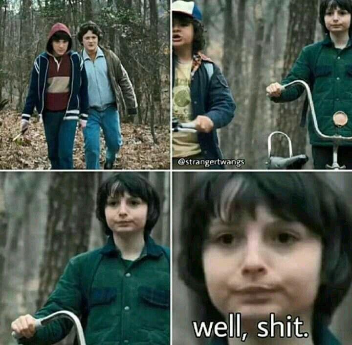 estos son memes de Stranger Things espero que les guste mucho #detodo # De Todo # amreading # books # wattpad #netflixmovies