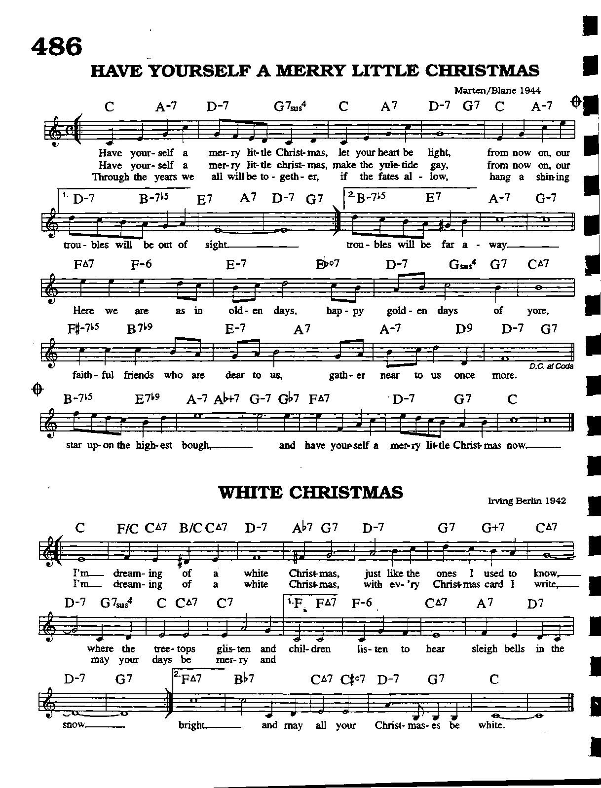 White christmas Music, Instruments & related Stuff in