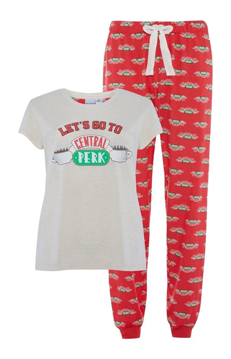FRIENDS Girls Central Perk Pyjamas