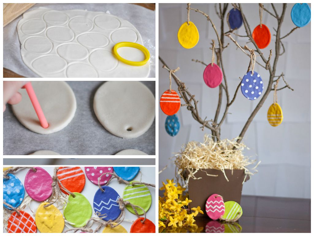 Best out of waste easy easter crafts for kids of for Handmade things from waste material for kids step by step