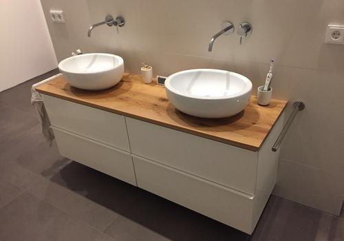 Waschtisch mit Unterschrank #bathroomvanitydecor