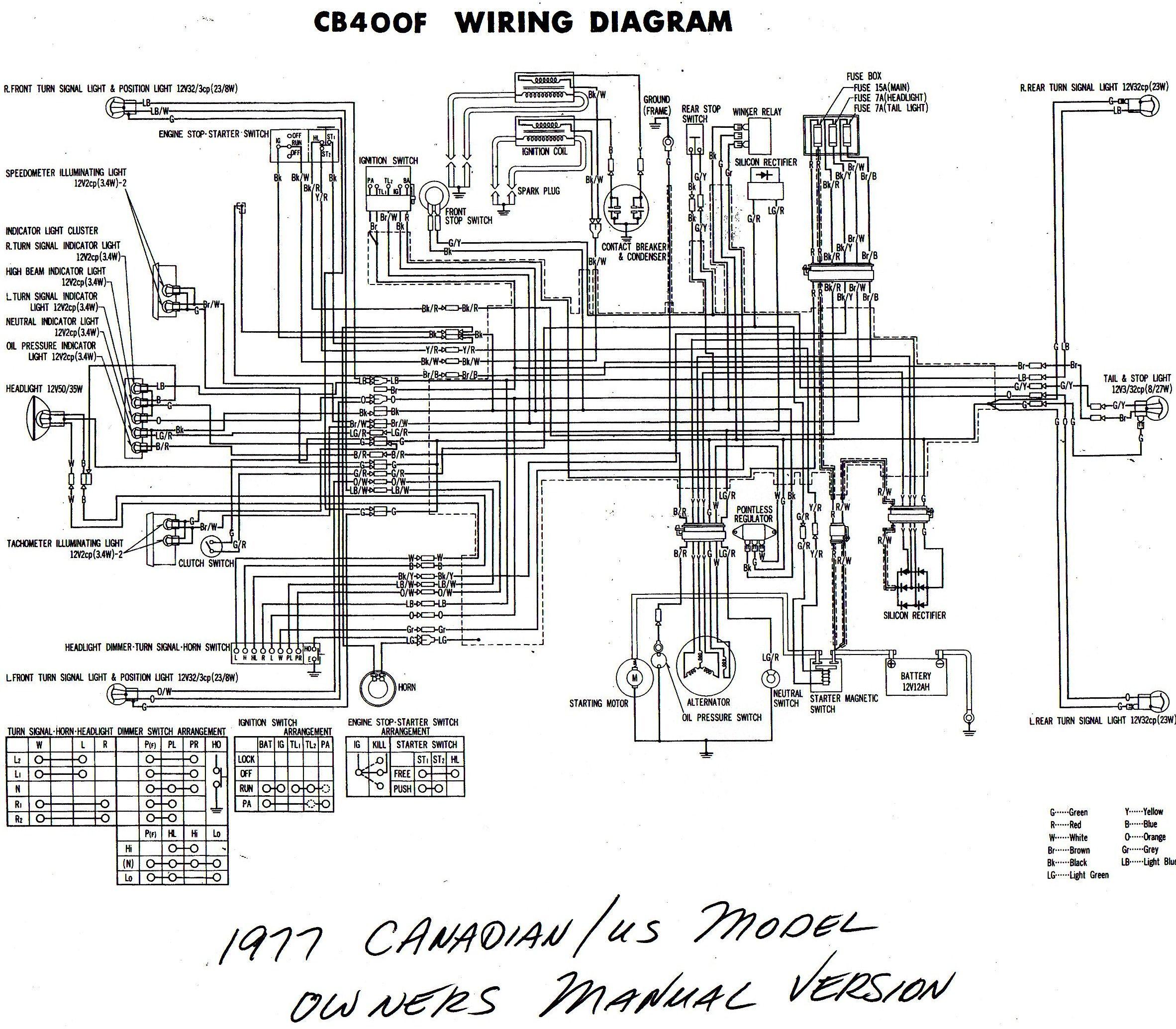 Cb400 Wiring Diagram