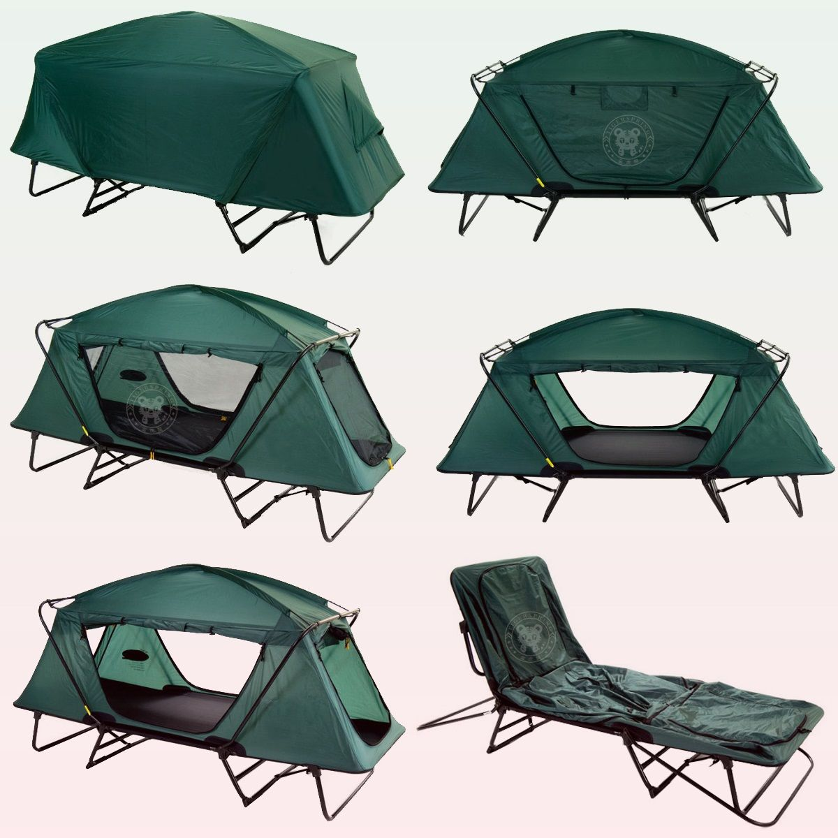 Large single person tent cot double layers waterproof outdoor fishing hunting and c&ing tent & Large single person tent cot double layers waterproof outdoor ...